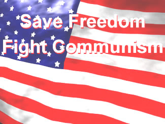 Save Freedom, Fight Communism!